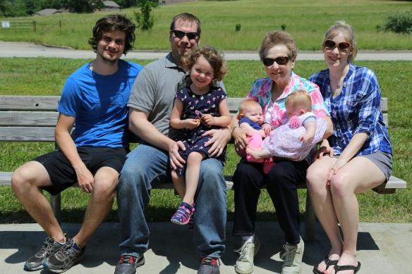 family bench 2